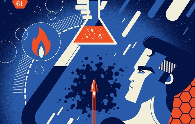 Tom Whalen and Dave Perillo – Super Science Fair Art Show at Spoke Art Gallery