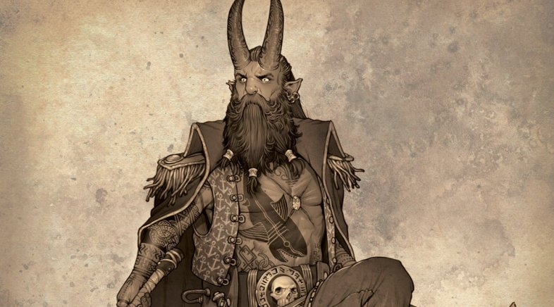 The Custom D&D Characters of Mike Faille