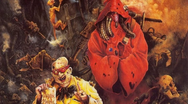 The (not so) gothic art of John Blanche
