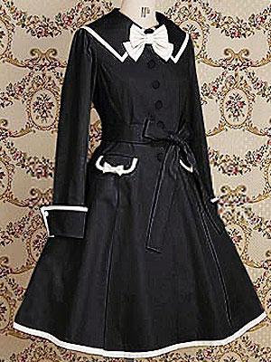 Exemple de robe de style gothique