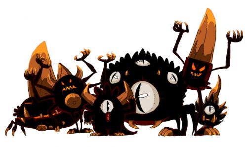 Des Dragons, des Dieux, mais également des démons au noms improbables puisque ceux-ci se font appeler des Chouchous