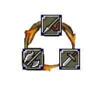Triangle d'efficacité et faiblesse des armes