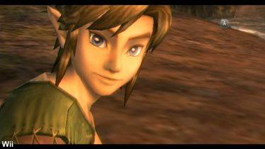Link tiré de la version Wii du jeu Twilight Princess