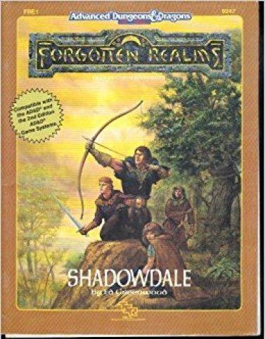 Shadowdale - ou Valombre en français - est un lieu très connu des Royaumes Oubliés à qui plusieurs suppléments sont consacrés
