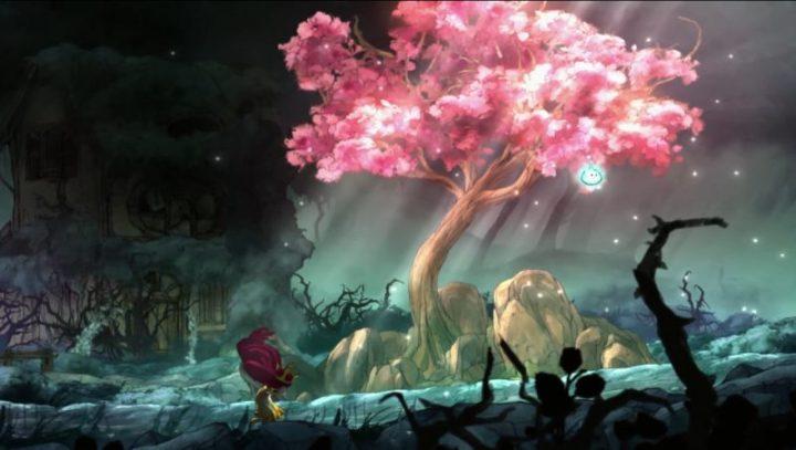 Les jeux de lumière viennent soutenir la narration, ici pour souligner le désespoir d'Aurora.