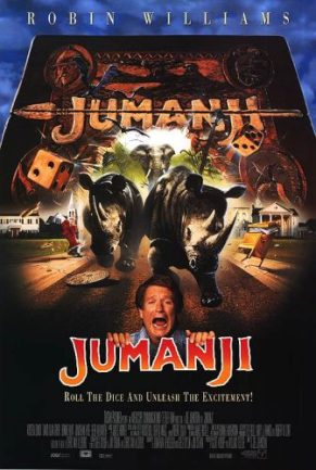 L'affiche américaine de Jumanji