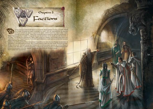 Illustration du chapitre des Factions