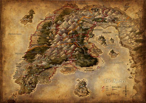 Carte de Tri-Kazel