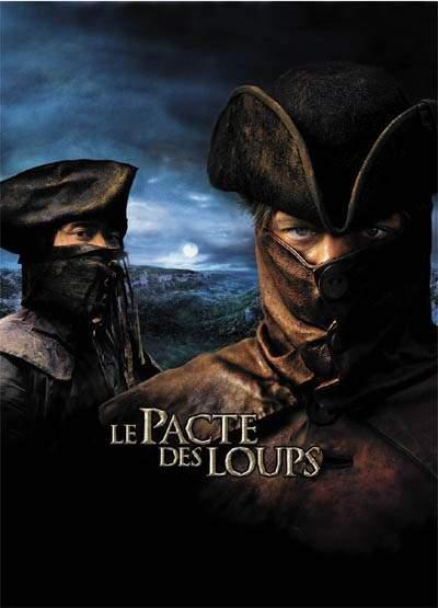 L'affiche du film le Pacte des Loups