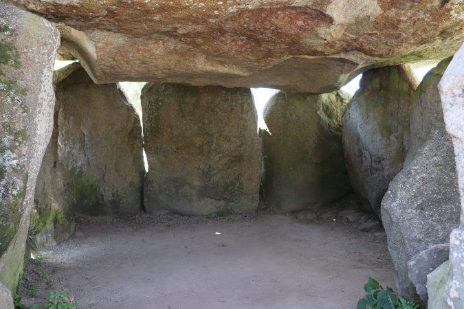 Dolmen Crucuno intérieur