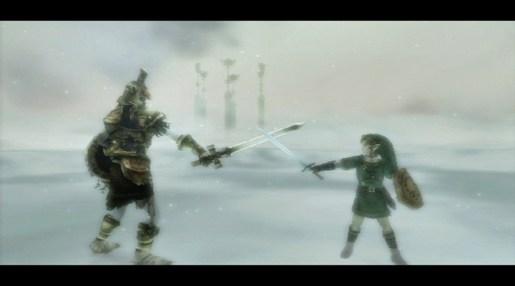 Twilight princess - Link et son maître d'armes