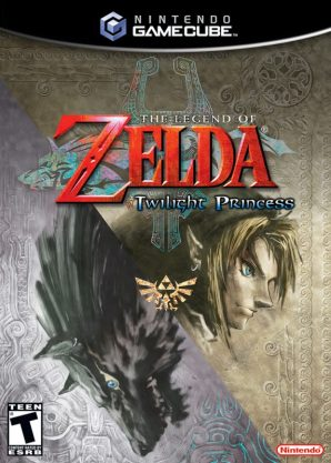 Boîtier du jeu Twilight Princess pour GameCube
