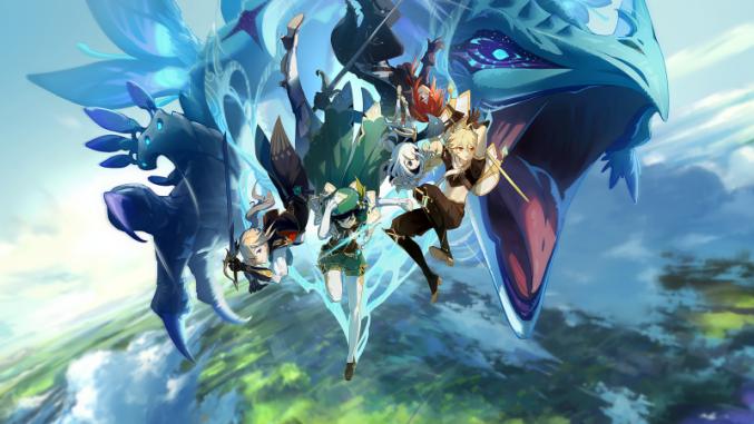 L'mage-titre de Genshin Impact, qui annonce la couleur pour vos premières aventures ! - (c) miHoYo