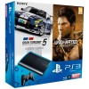 Pack ps3 ultra slim Gran Turismo 5 Academy & Uncharted 3