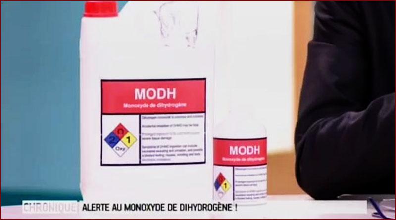 Le monoxyde de dihydrogène