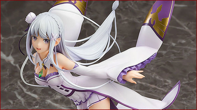 Good Smile Company - Emilia 1/7 Complete Figure (Re:ZERO -Starting Life in Another World-)