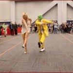 Une danse réalisée par des cosplayeurs de The Mask lors du Comic Con 2016 à Montréal