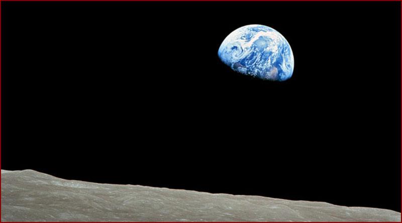 La NASA a publié sur Twitter une photo montrant la distance entre la Terre et la Lune