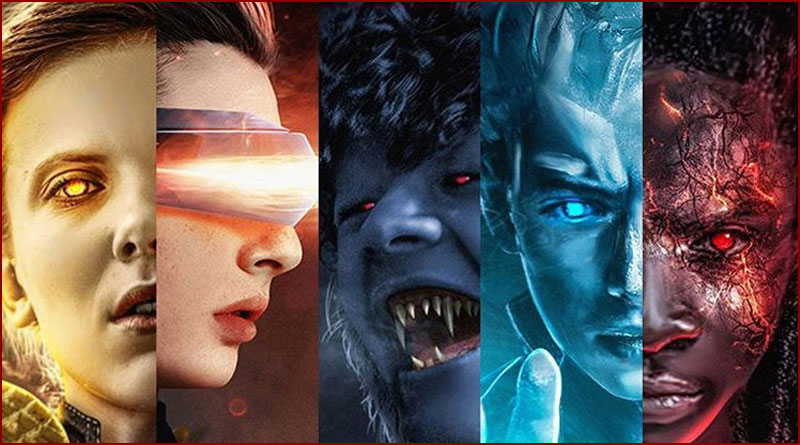 BossLogic : L'artiste qui transforme les personnages de Stranger Things en X-Men