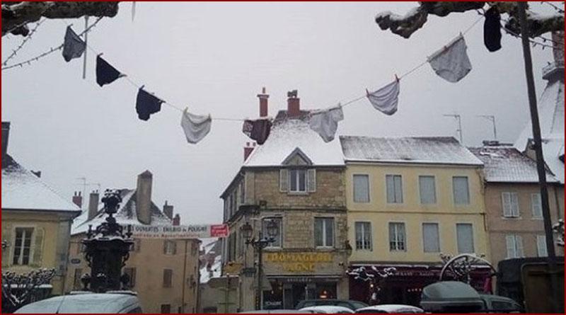 Un village victime du «Gang des slips»