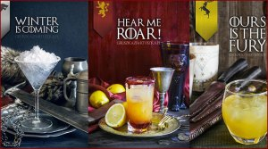Des cocktails Game of Thrones