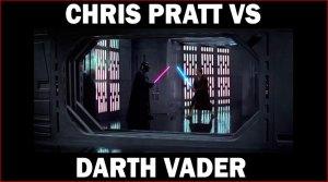 Aviez vous vu Chris Pratt affronter Dark Vador en 2012 dans une pub pour la xbox ?