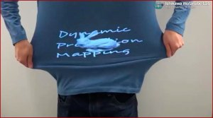 Projection mapping dynamique