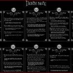 Connais-tu les règles d'utilisation du Death Note ?