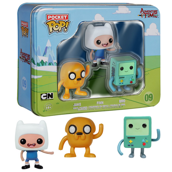 Adventure Time Pocket Pop Vinyl Figures Tin GeekAlerts
