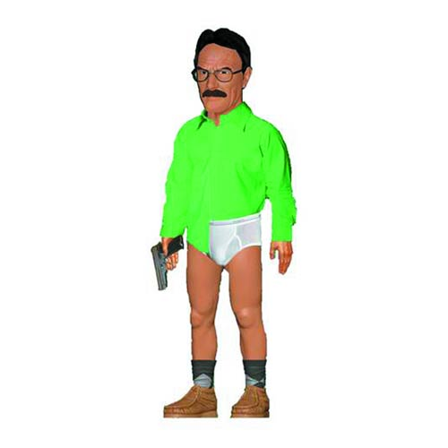 Breaking Bad Walter White Underwear 17-Inch Talking Figure