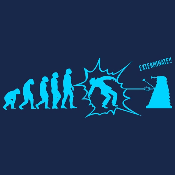 Doctor Who Exterminate T Shirt
