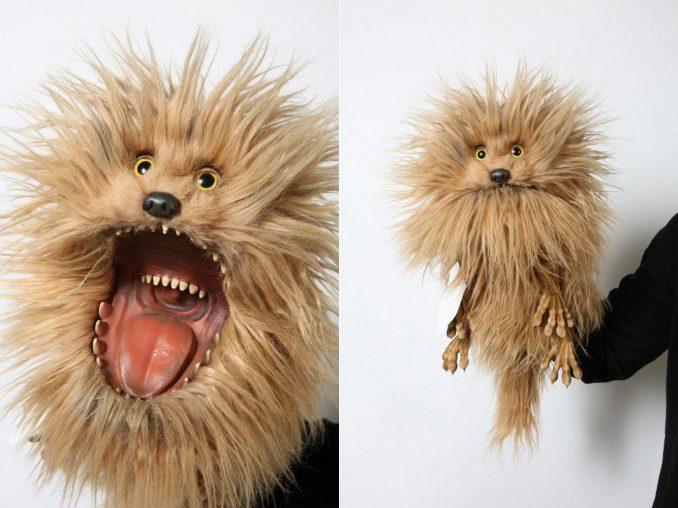 Jim Henson The Dark Crystal Fizzgig Puppet