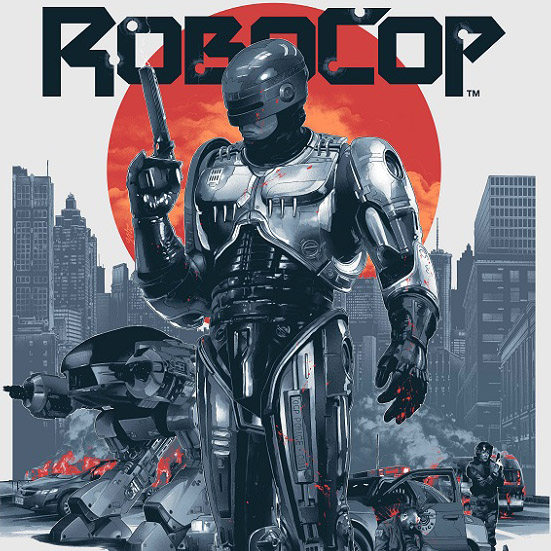 Robocop Art Print By Gabz GeekAlerts