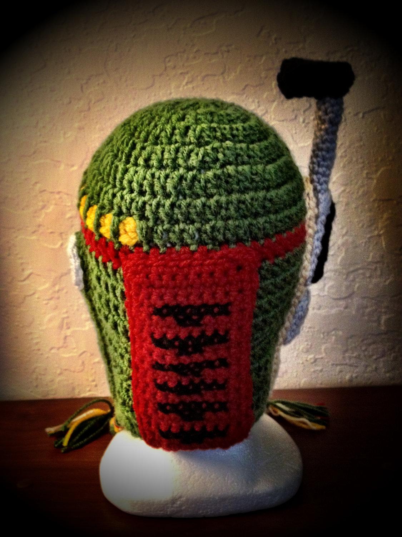 Optimus Prime Crochet Hat Pattern