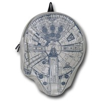 STAR WARS | your Millennium Falcon 3D Backpack helps you through that daily Kessel run..?