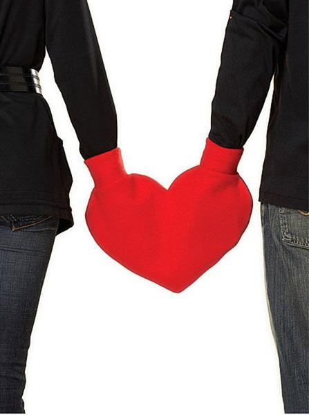 Αποτέλεσμα εικόνας για shaped heart gloves for two