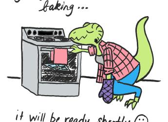 Comic Still Baking