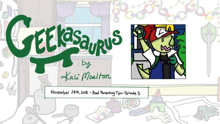 Bad Parenting Tips: Episode 3