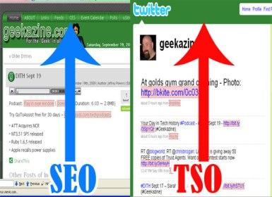 TSO - Twitter Search Optimization