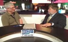 Andy McCaskey and Steve Wozniak