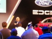 Elaine Bannon on Ford Edge