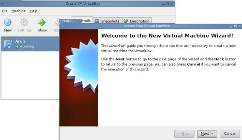 Create New VM Wizard