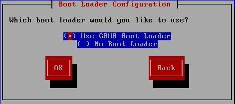 Boot Loader Selection