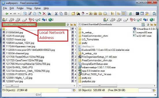 Network View:  By IP Address