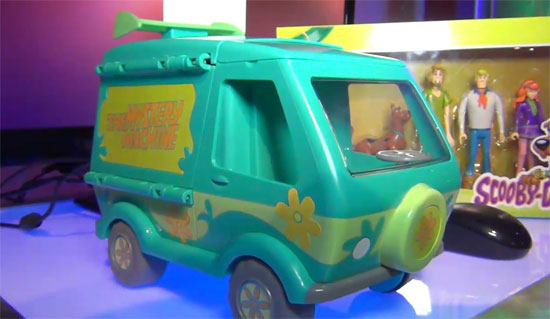 Scooby-Doo Mystery Machine powered by AMD