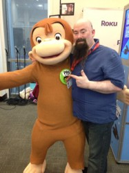 Me and Curious George