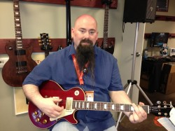 Jeff Powers with Gibson Lucy