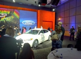 Ford Fusion Hybrid Driver Assist Car