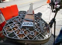 3D Printed Steampunk Guitar
