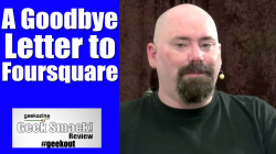 Goodbye Foursquare